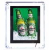 Heineken led crystal light box