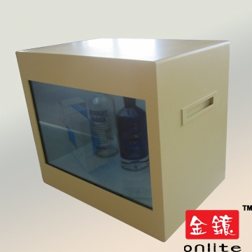 "32"" Transparent LCD Advertising Player"